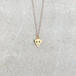 Billie M Vigne - Death Mask Necklace - Dullard