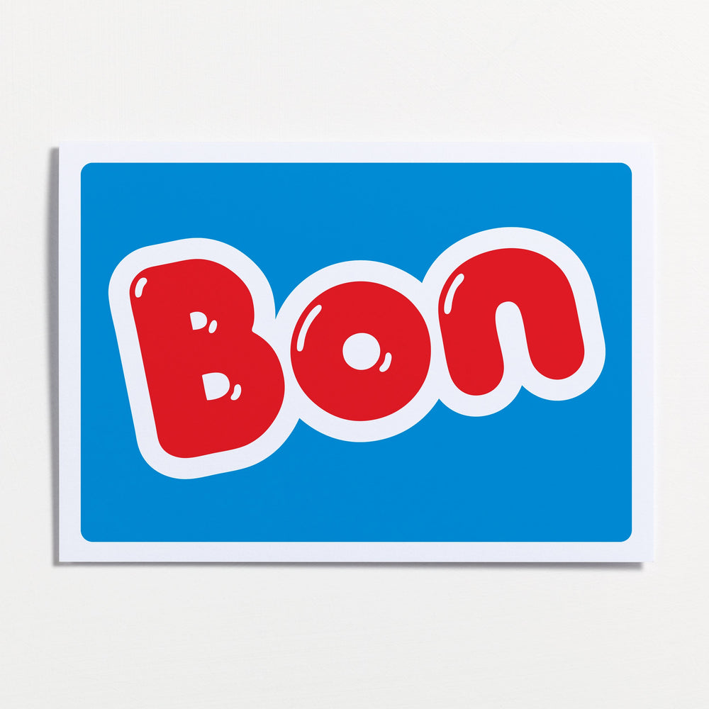 Bon - Greetings Card - Turner Contemporary Shop