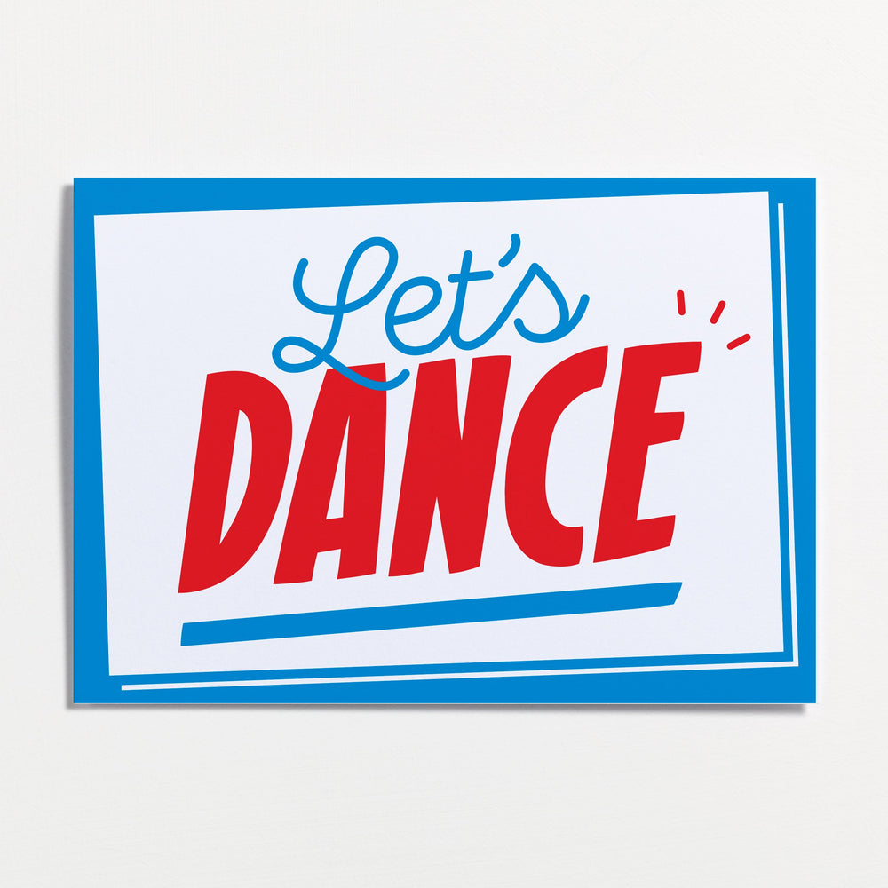 Let's Dance - Greetings Card - Turner Contemporary Shop