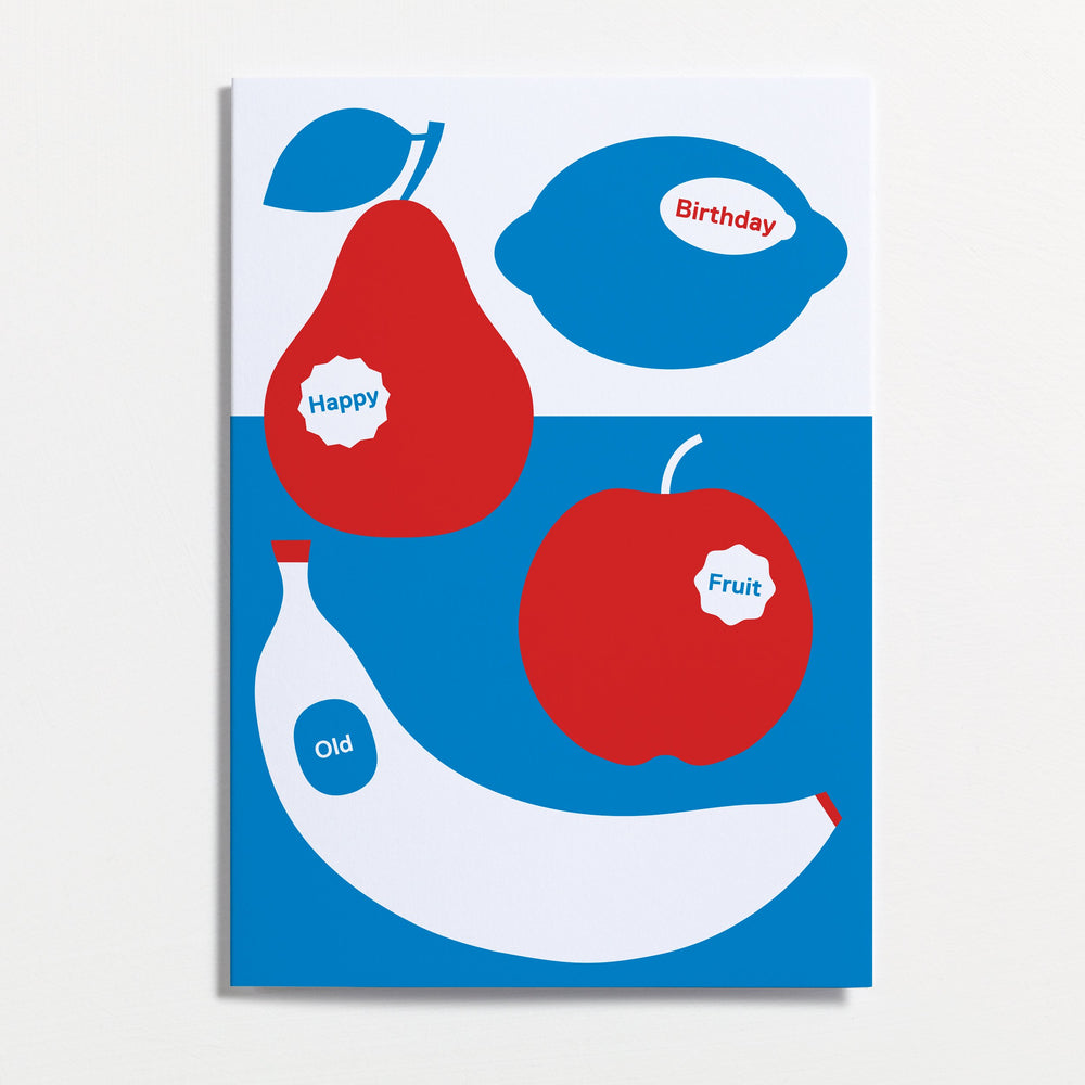 Old Fruit - Greetings Card - Turner Contemporary Shop