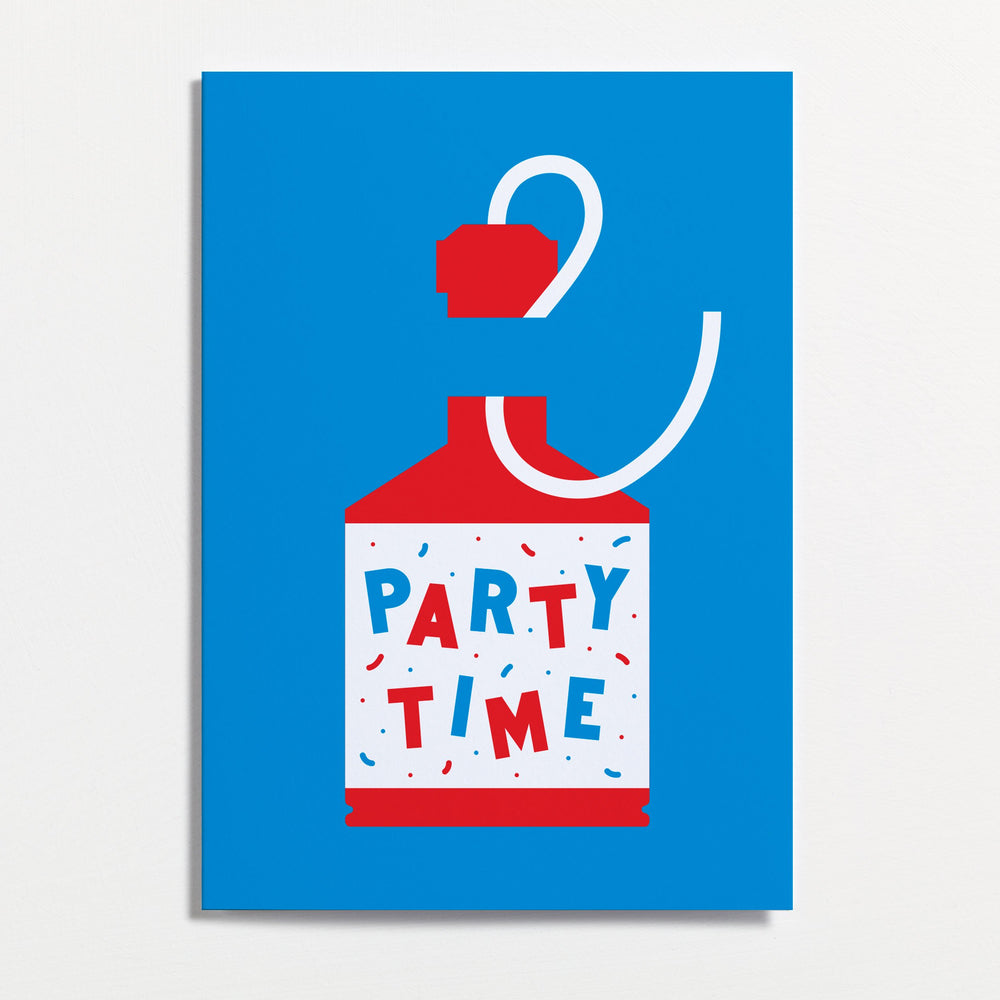 Party Time - Greetings Card - Turner Contemporary Shop