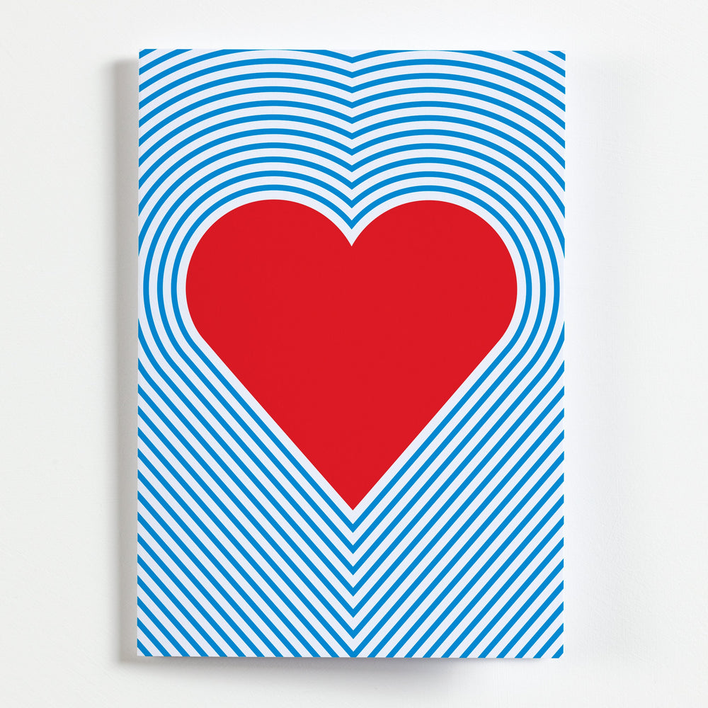 Pop Heart - Greetings Card