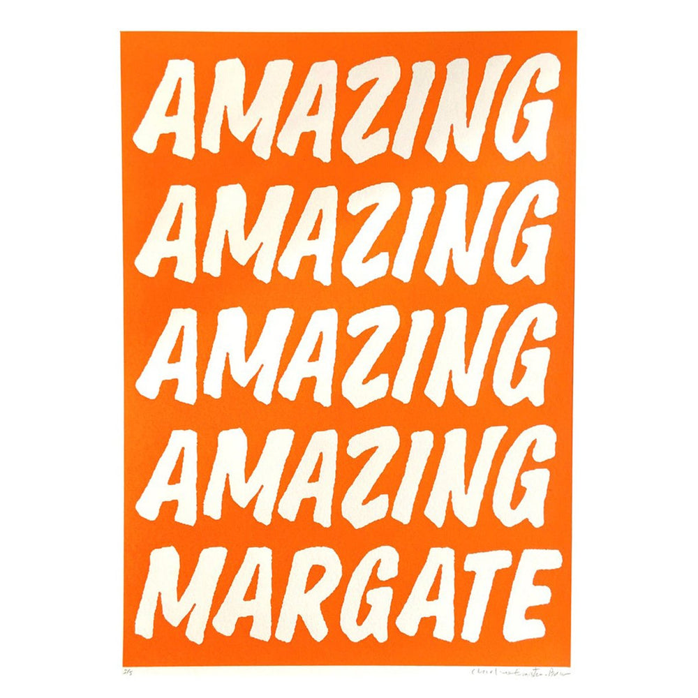 Charlie Evaristo-Boyce - Amazing Margate Orange