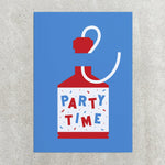 Party Time - Greetings Card