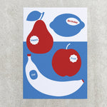 Old Fruit - Greetings Card