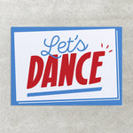Let's Dance - Greetings Card