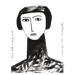 Girl with a Long Neck - Margo in Margate - 30 x 40 Print