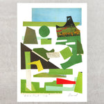Dane Park Collage Print - Kavel Rafferty