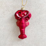 Glitzy Lobster Bauble