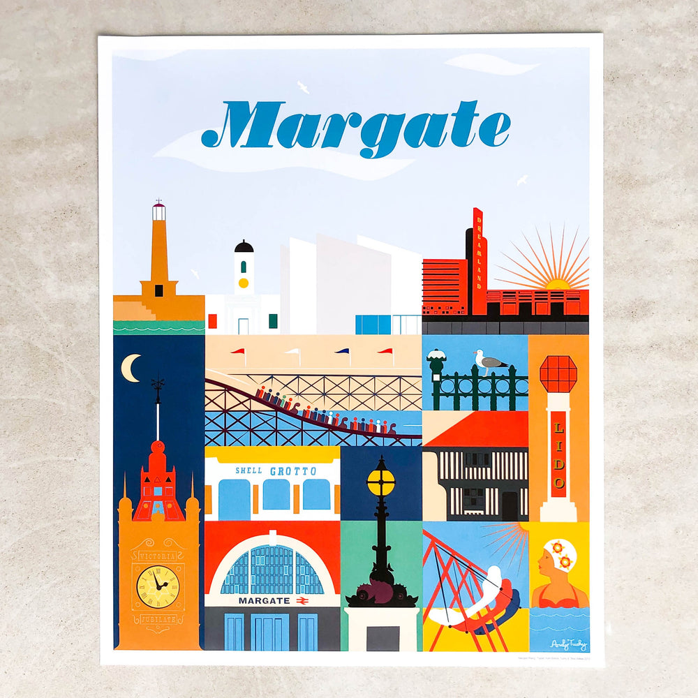 Margate Print - Andy Tuohy