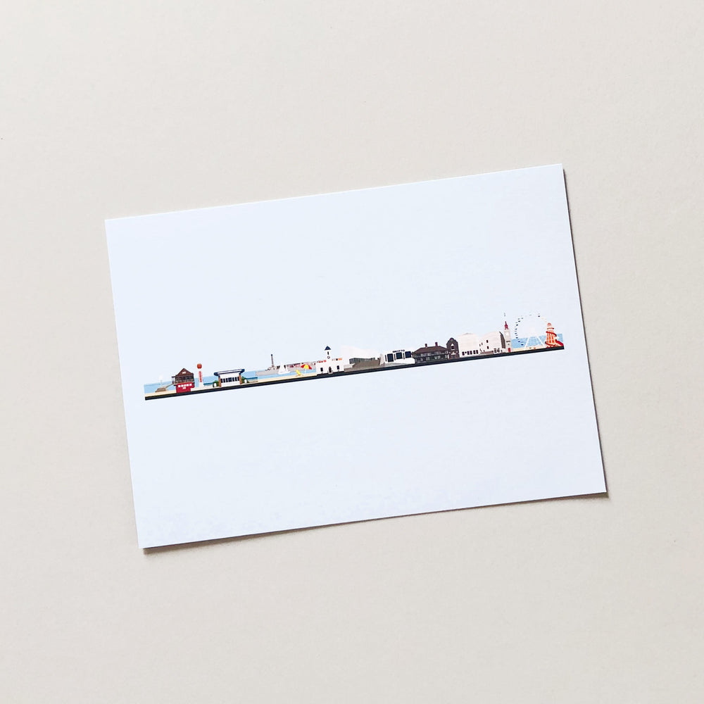 Margate Skyline Postcard