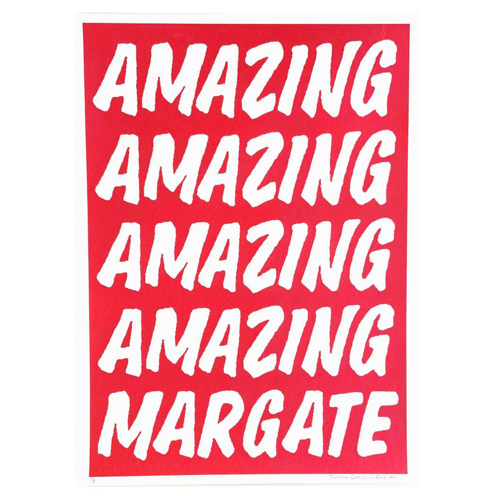 Charlie Evaristo-Boyce - Amazing Margate Red - Turner Contemporary Shop