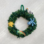 Sea Life Felt Wreath