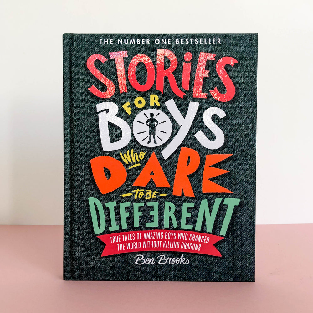 Stories For Boys Who Dare To Be Different - Turner Contemporary Shop