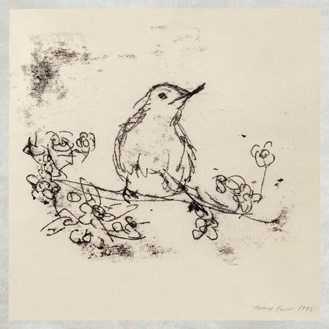 Tracey Emin Greetings Card - Bird Drawing - Turner Contemporary Shop
