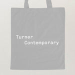 Turner Contemporary Tote Bag - Dove Grey