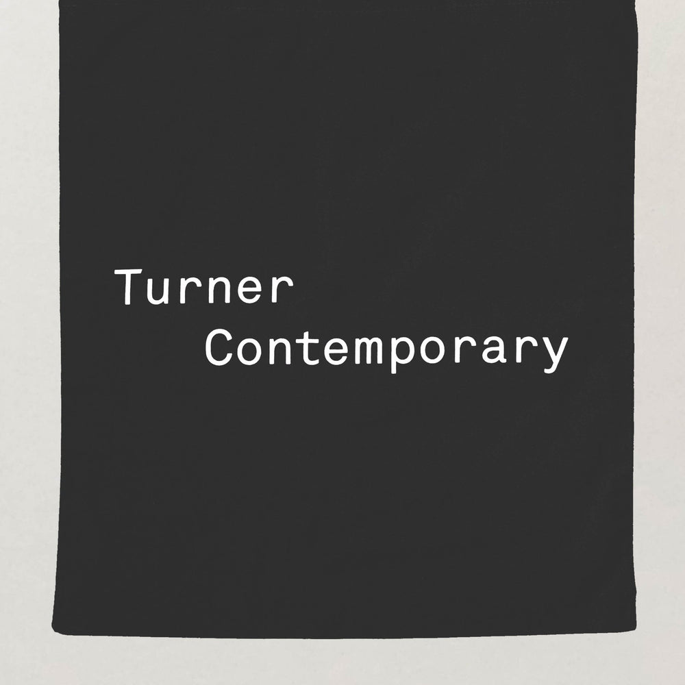 Turner Contemporary Tote Bag in Black