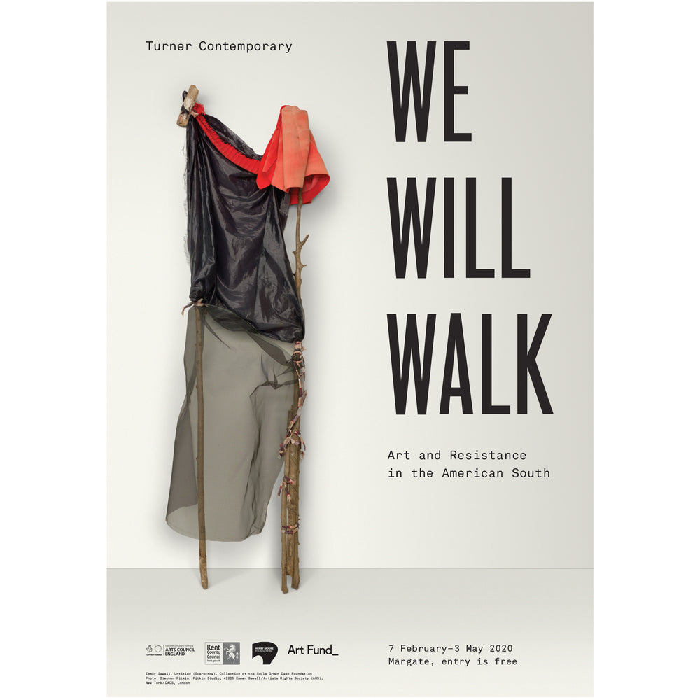 We Will Walk – Official Exhibition Poster - Turner Contemporary Shop