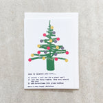 Ways To Decorate Your Tree - Christmas Card
