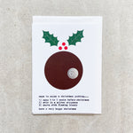 Ways To Enjoy A Christmas Pudding - Christmas Card