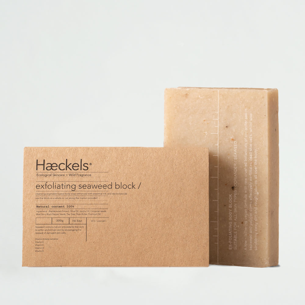 Haeckels Large Exfoliating Seaweed Block