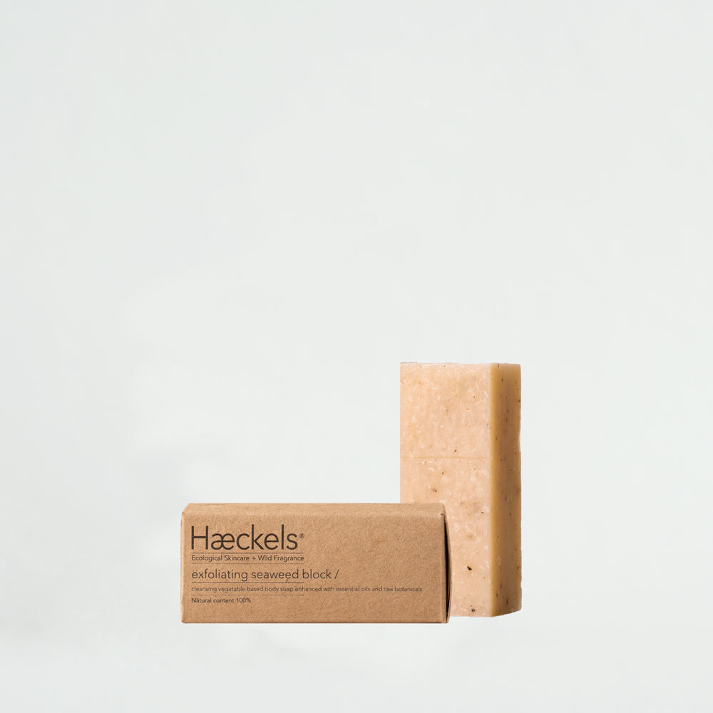 Haeckels Small Exfoliating Seaweed Block