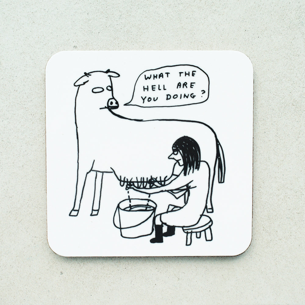 David Shrigley - What The Hell Coaster