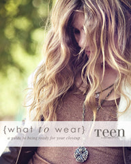 {what to wear} teens & seniors