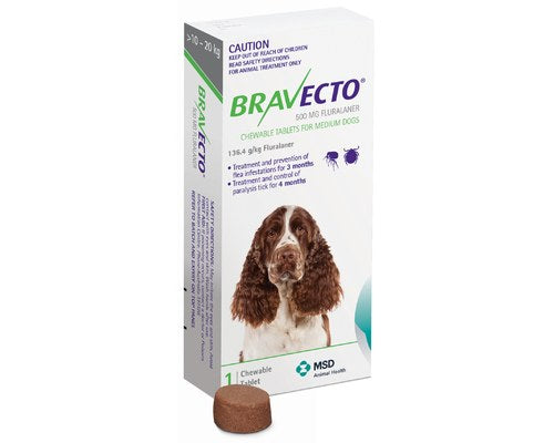 Bravecto Large Dog Chews Green - Pikabu