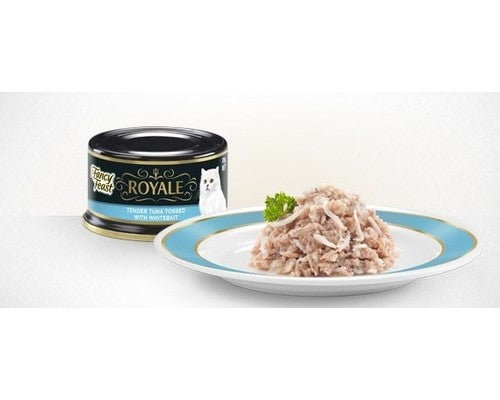 Fancy Feast Royale Tender Tuna with Whitebait Cat Wet Food Cans - Pikabu