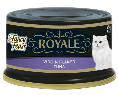 Fancy Feast Royale Virgin Flaked Tuna Cat Wet Food Cans - Pikabu