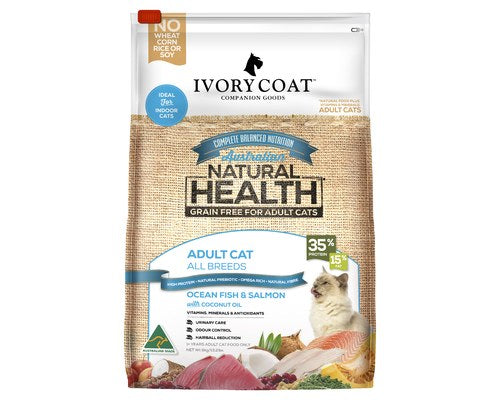 Ivory Coat Adult Grain Free Ocean Fish Salmon Dry Cat Food - Pikabu