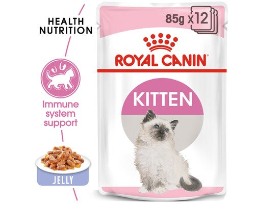 Royal Canin Kitten Instinctive In Jelly - Pikabu