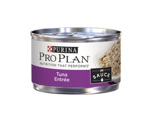 Pro Plan Cat Tuna Entree In Gravy Cat Wet Food Cans - Pikabu