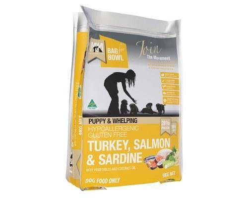 Meal For Mutts Puppy Turkey And Salmon And Sardine Gluten Free Orange Dog Food - Pikabu