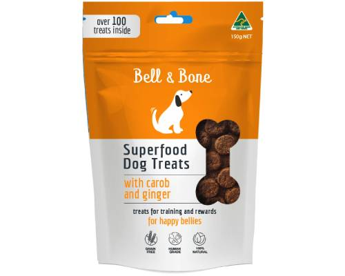 Bell and Bone Superfood Dog Treats with Carob and Ginger - Pikabu