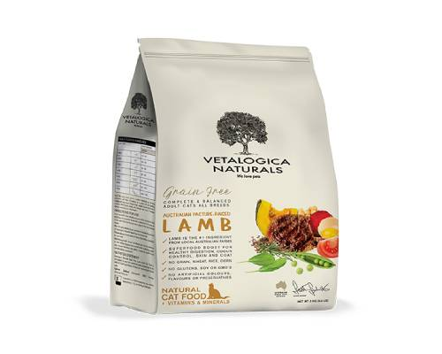 Vetalogica Naturals Grain Free Lamb Adult Cat Food - Pikabu