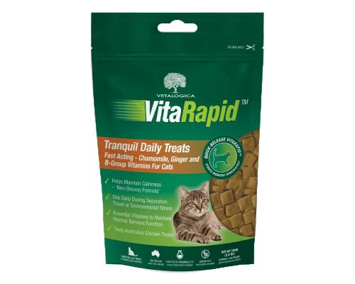 Vetalogica Vitarapid Tranquil Daily Cat Treats - Pikabu