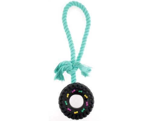 Yours Droolly Playmates Tyre Dog Toy - Pikabu