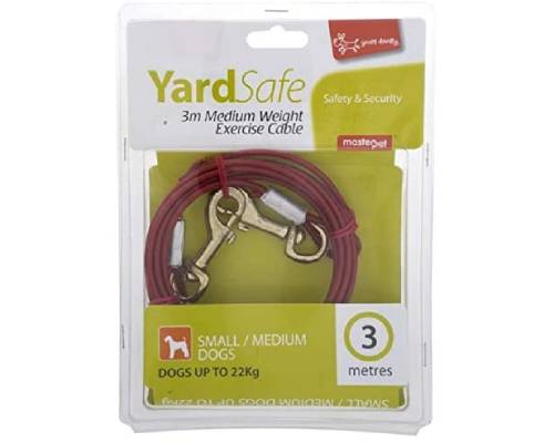 Yours Droolly Tie Out Dog Exercise Cable - Pikabu