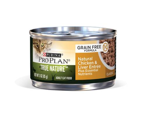 Pro Plan Adult Grain Free Chicken And Liver Entree Wet Cat Food - Pikabu