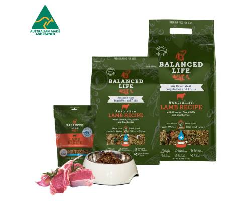 Balanced Life Rehydrate Lamb Recipe Dried Dog Food - Pikabu
