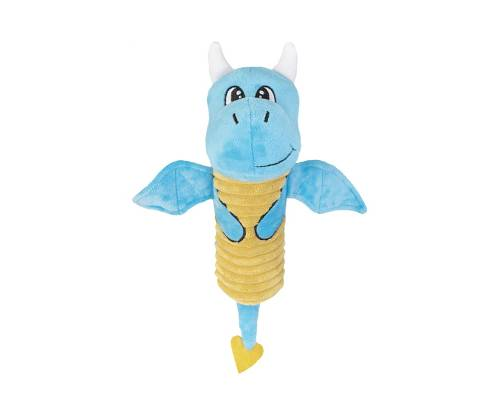 Yours Droolly Crackle Dragon Dog Toy - Pikabu
