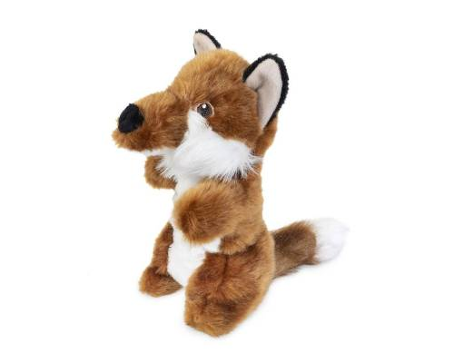 Yours Droolly Stretch Fox Dog Toy - Pikabu