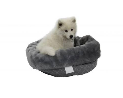 TS Bag To Bed Quilted Pet Bed Grey - Pikabu