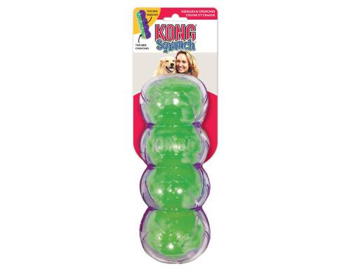 Kong Sqrunch Dumbbell Dog Toy - Pikabu