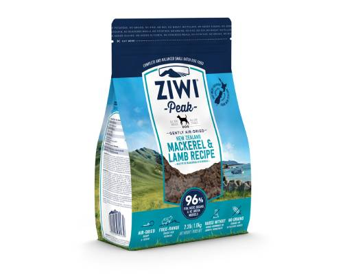 Ziwi Peak Mackerel & Lamb Air-Dried Dog Food - Pikabu