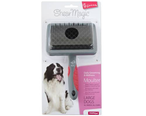 Yours Droolly Shear Magic Moulting Brush For Dogs - Pikabu