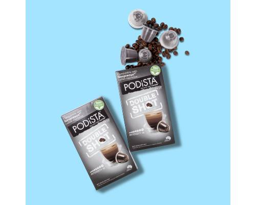 PODiSTA Double Shot Coffee (16/10) Pod - Pikabu