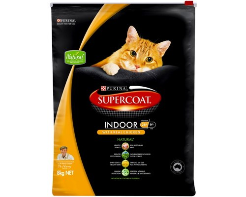 Supercoat Adult Indoor Chicken Dry Cat Food - Pikabu